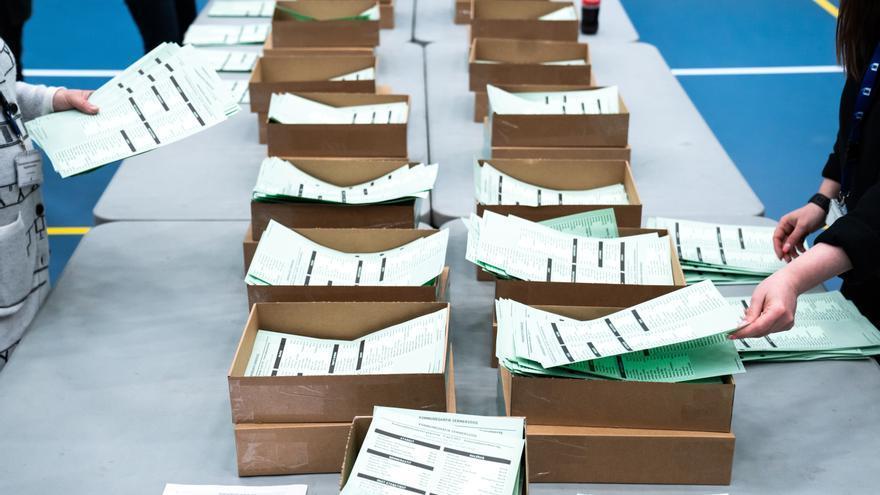 Recuento de votos. EFE/EPA/Emil Helms
