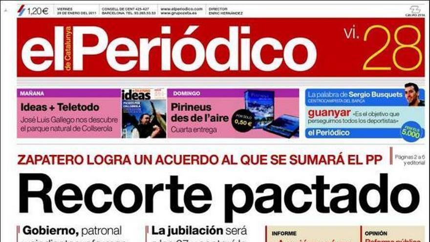 De las portadas del día (28/01/2011) #12