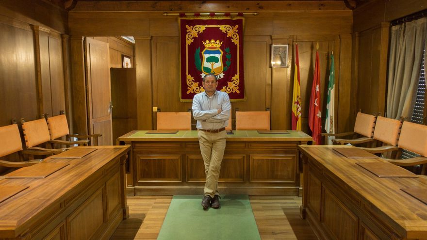 Luis Miguel Peña, alcalde de Cercedilla