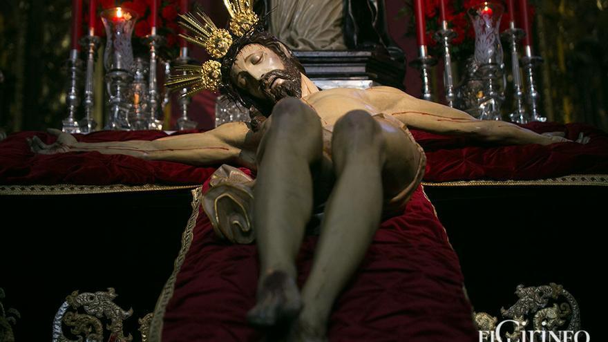 El Señor de la Caridad, tras su restauración en 2017 | MADERO CUBERO