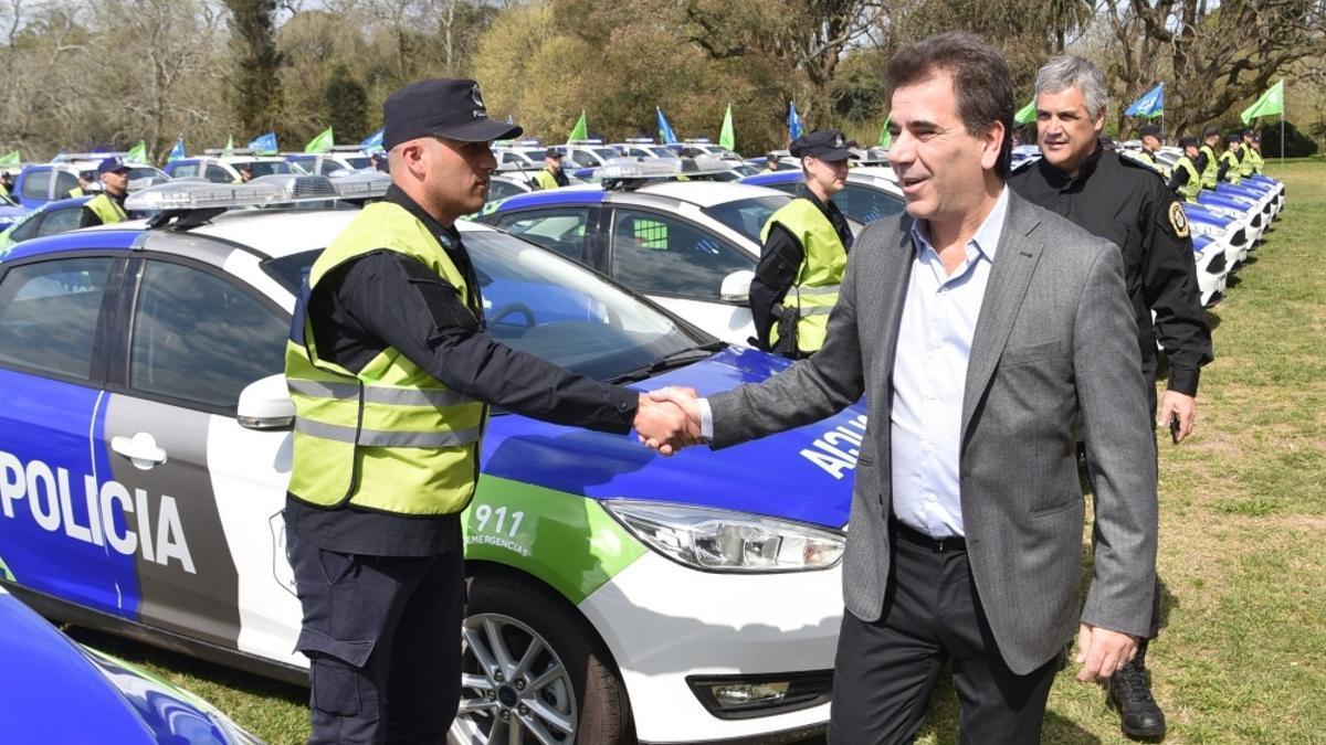 Cristian Ritondo, exministro de Seguridad de la provincia de Buenos Aires.