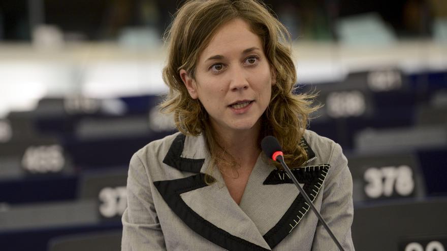 La eurodiputada valenciana de Esquerra Unida Marina Albiol