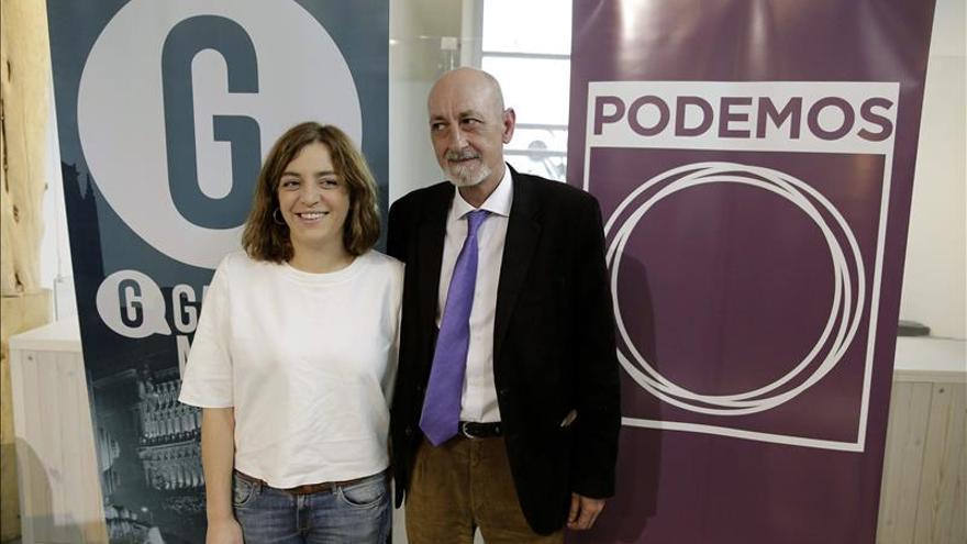 """Ganemos y Podemos concurrirán a las municipales bajo la marca """"Ahora Madrid"""""""