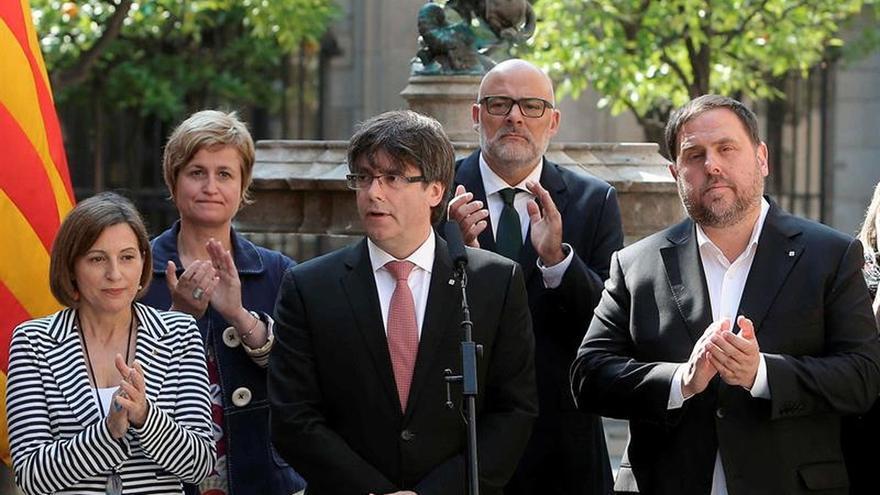 La Fiscalía incluye el anuncio de referéndum de Puigdemont en su querella a Borràs