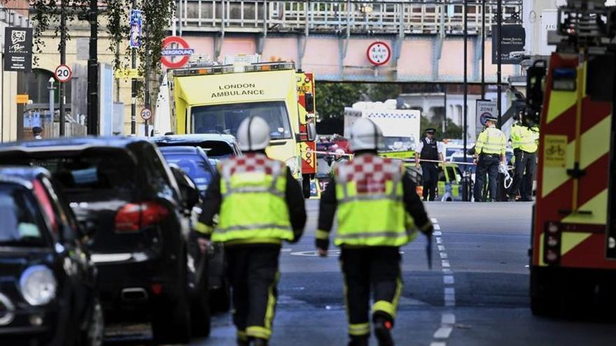 La Policía confirma que trata la explosión de Londres como un acto terrorista