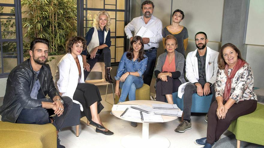 Imagen del equipo de la segunda temporada de Madres