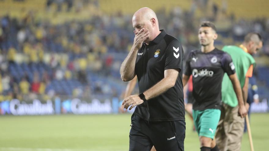 Pepe Mel no quiere euforias tras la victoria del pasado miércoles en Ponferrada.