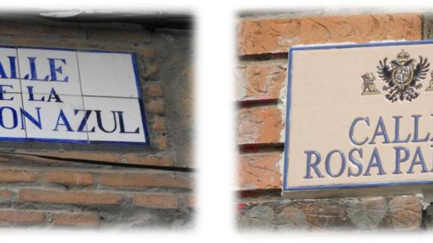Cambio de placas en Toledo