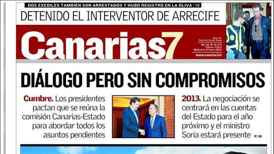 De las portadas del día (23/05/2012) #2