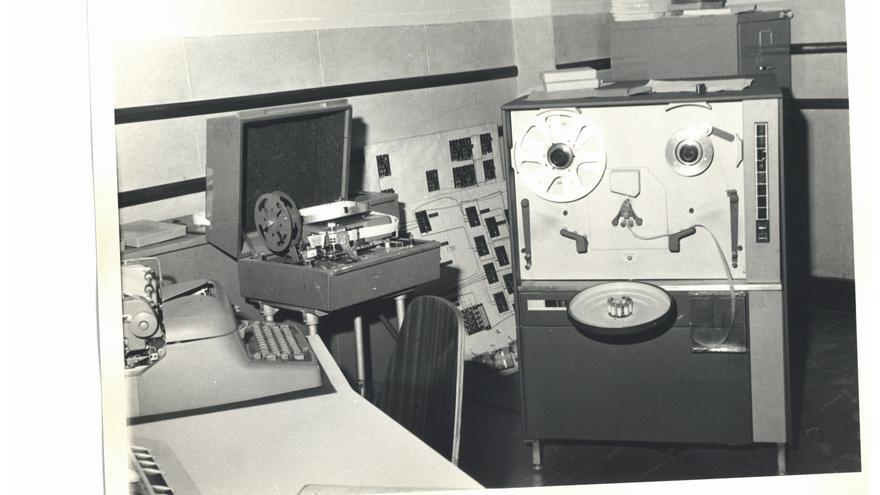 Unidad de cinta del IBM 1620, el ordenador que Teresa utilizó para realizar su tesina