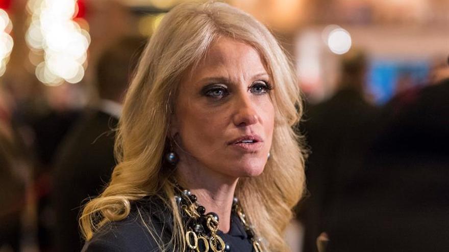 Kellyanne Conway, directora de campaña de Donald Trump y, ahora, asesora principal
