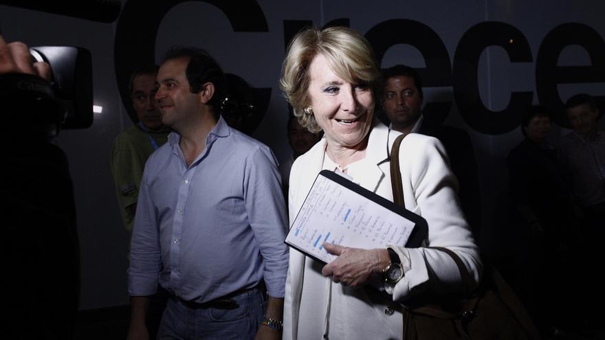 """Aguirre cree que el PP necesita una """"refundación"""" y convocará un congreso tras constituirse las instituciones"""