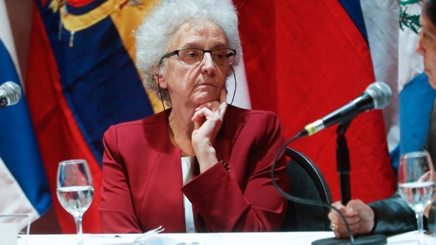 En la imagen un registro de  la directora del diario español El País, Soledad Gallego-Díaz.