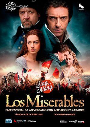 Teatro musical: 'Los Miserables', en formato Sing-Along
