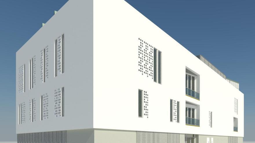 Proyecto del futuro Centro Cultural