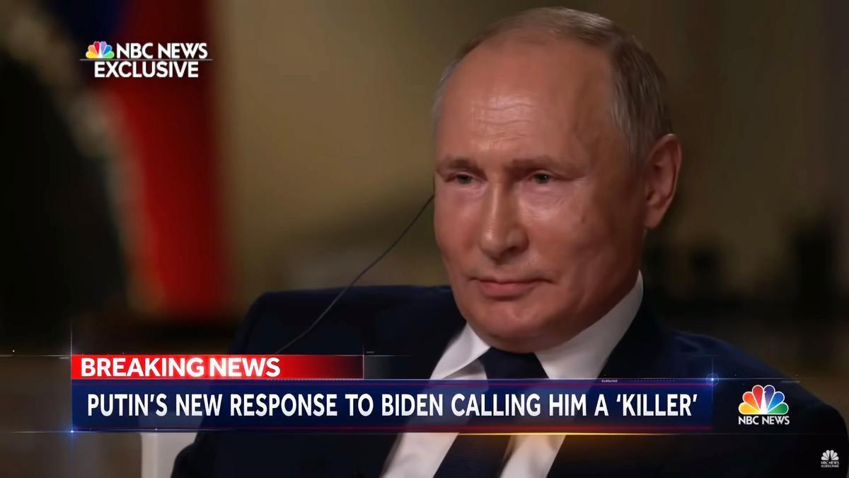 Vladimir Putin, entrevistado en NBC News