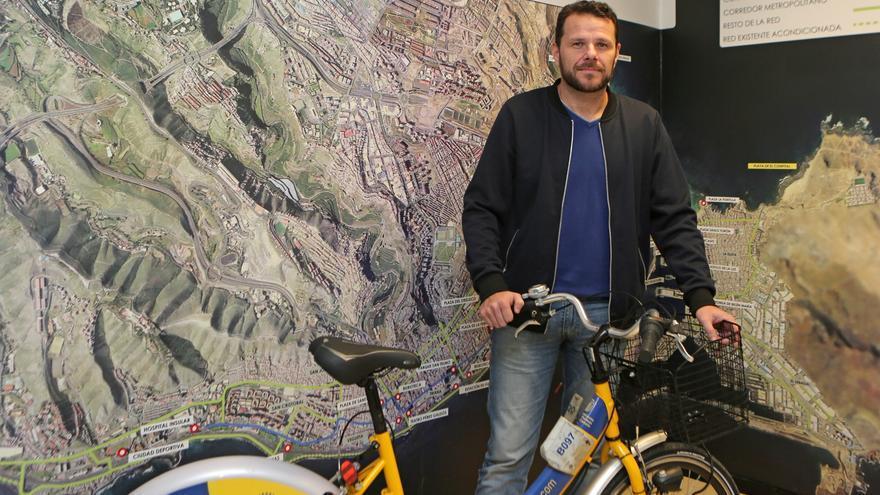 Heriberto Dávila, director general de Movilidad del Ayuntamiento de Las Palmas de Gran Canaria.