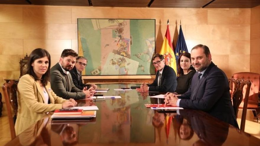 PSOE y ERC avanzan sobre cómo encauzar el conflicto político y se verán de nuevo el 10 de diciembre