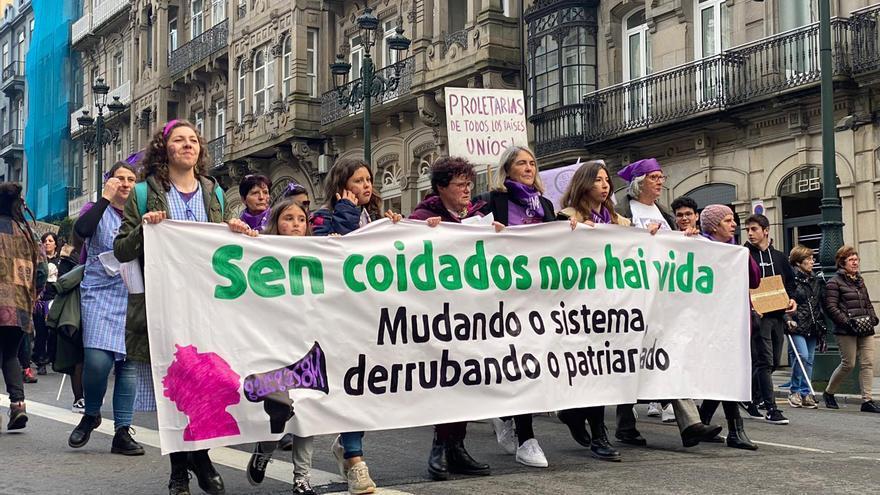 Manifestación 8M Vigo