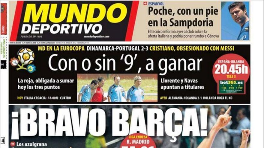 De las portadas del día (14/06/2012) #13