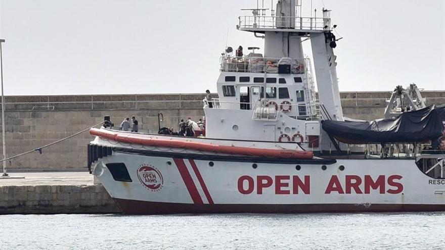 Open Arms zarpa de Palma hacia el Mediterráneo central para ayudar migrantes