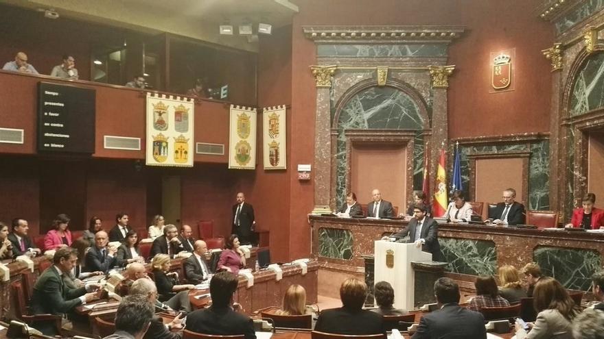 López Miras pierde la primera votación en la primera sesión del debate de investidura en Murcia