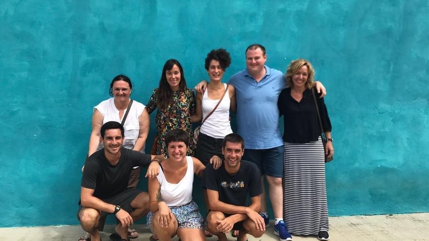 """Los ocho jóvenes del programa 'Juventud Vasca Cooperante' destinados en México se encuentran """"perfectamente"""""""