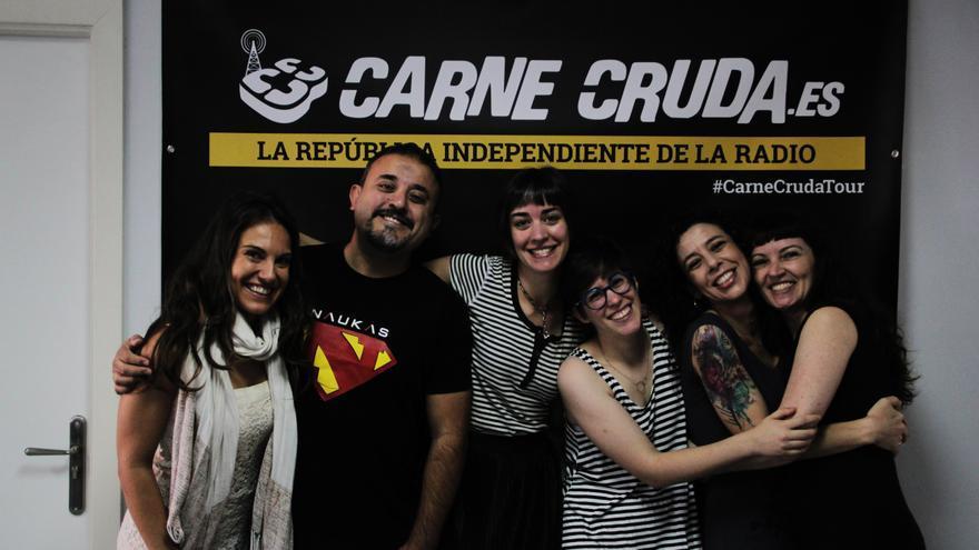 Invitados Naukas 2017 en Carne Cruda