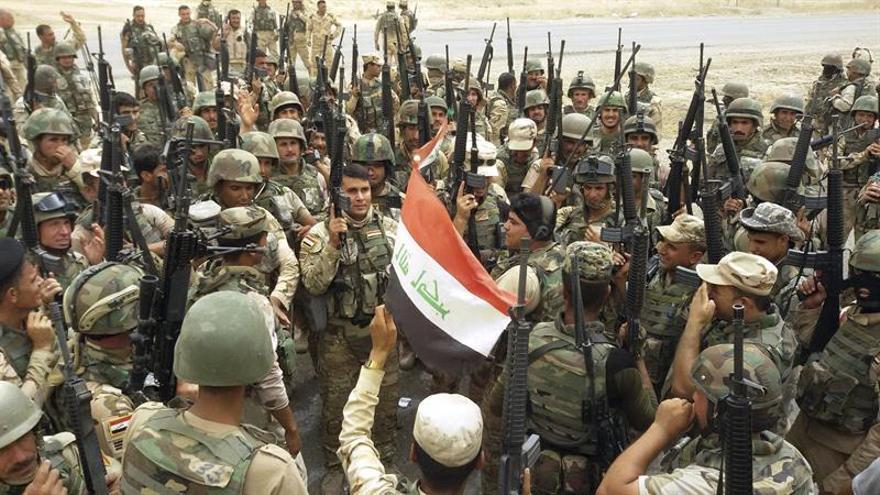 El Ejército iraquí arrebata otra población en Al Anbar al EI