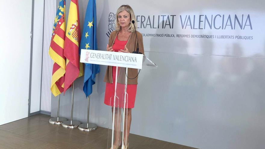 La consellera valenciana de Justicia, Gabriela Bravo