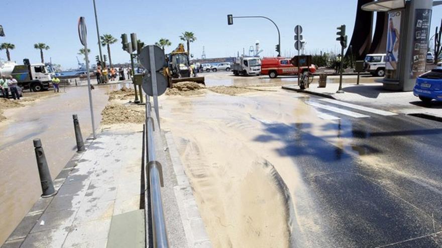 De la inundación en Julio Luengo #13