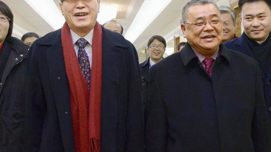 Enviado de Pekín llega a Seúl para coordinar respuesta ante Corea del Norte