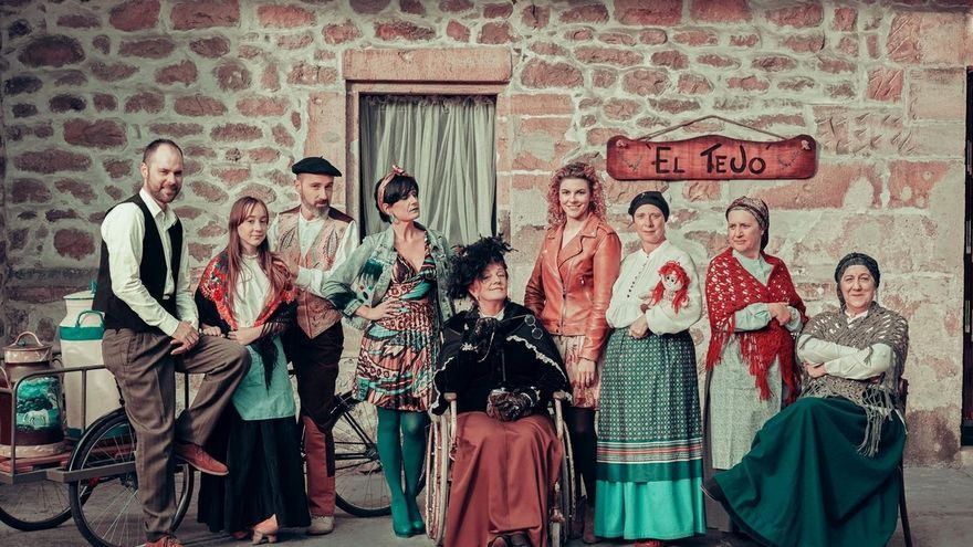 La serie 'Cuando el río suena', producida y rodada en Cantabria, se estrena mañana en la Filmoteca