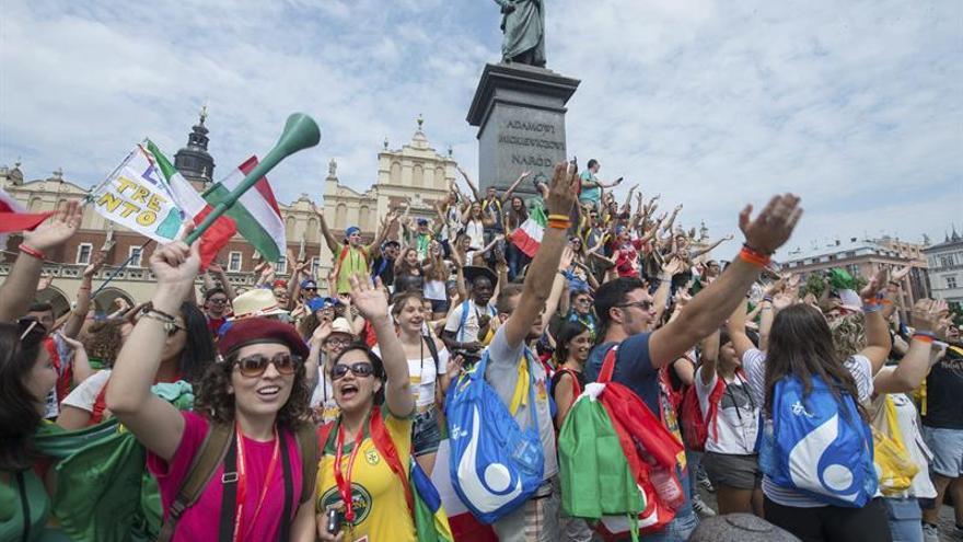 Cientos de miles de jóvenes se dan cita en Cracovia para la JMJ