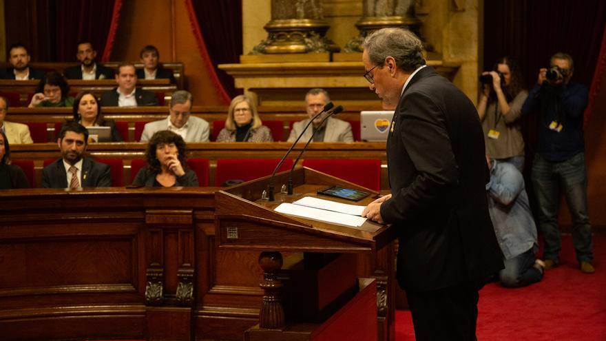 Torra exige la dimisión de Lesmes y pide a Fiscalía que rectifique las acusaciones