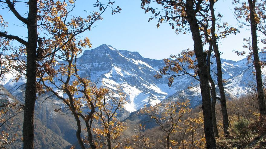 Una vista espléndida de Sierra Nevada