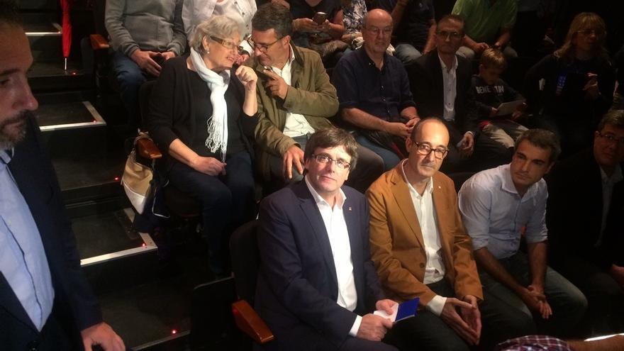 """Puigdemont: """"La principal amenaza"""" según el Estado es la urna y no el terrorismo"""