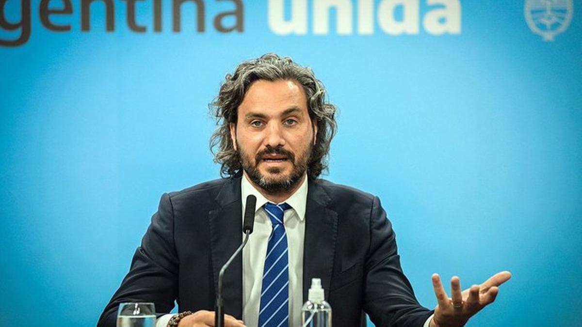 El canciller Santiago Cafiero