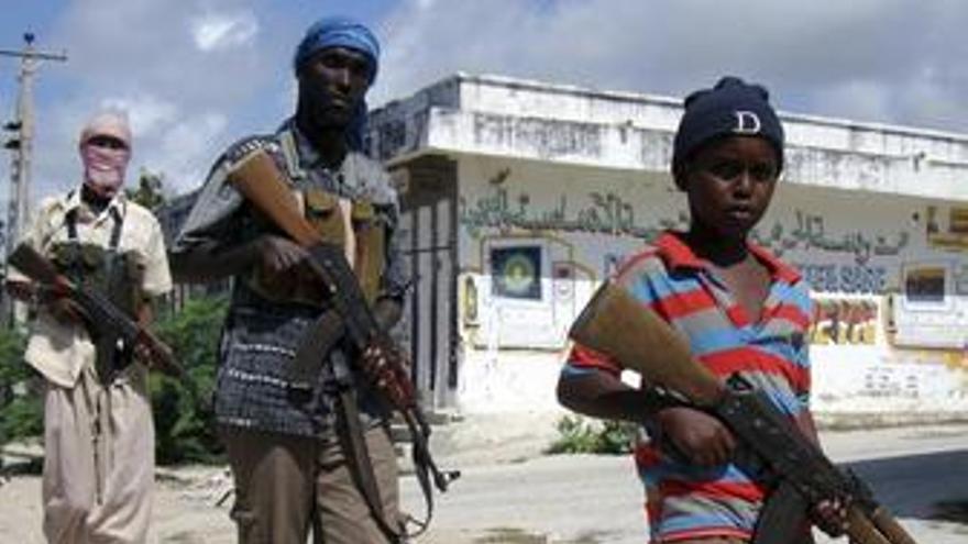 Rebeldes en Somalia