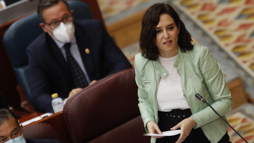 La Asamblea de Madrid aprueba la reforma de Telemadrid con el único voto del PP