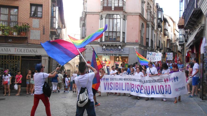 Movilización LGTB en Toledo.