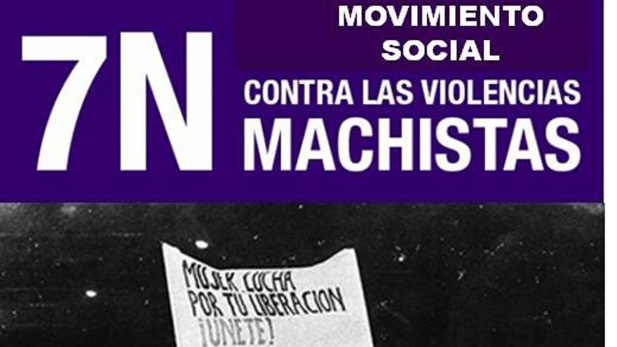 Cartel de la concentración en Archena