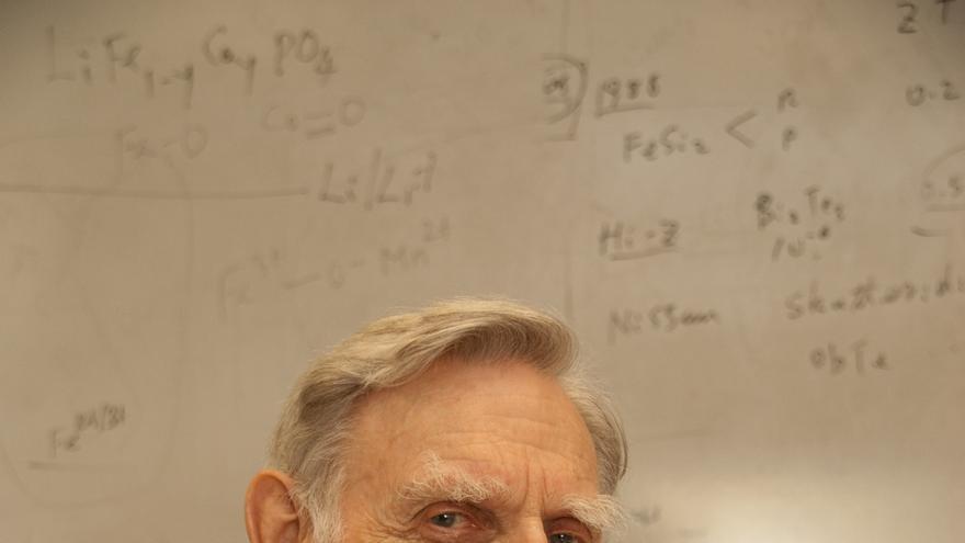 Goodenough continúa en la facultad. En concreto, en la Universidad de Texas (Imagen: Cedida por John Goodenough)