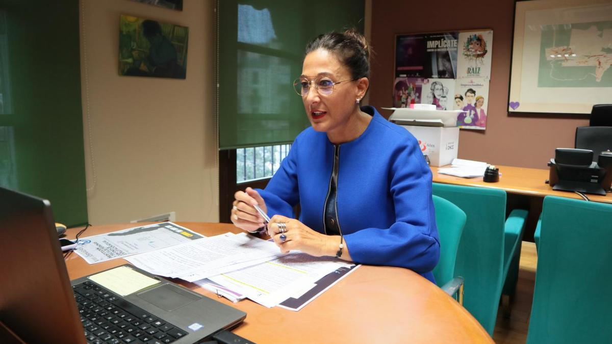 La directora del Instituto de la Mujer de Castilla-La Mancha, Pilar Callado