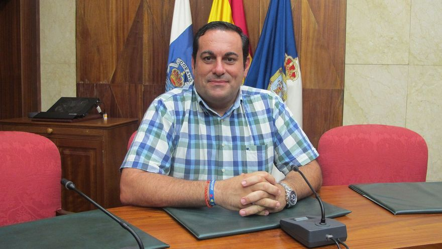 Basilio Pérez es consejero insular de Agricultura.