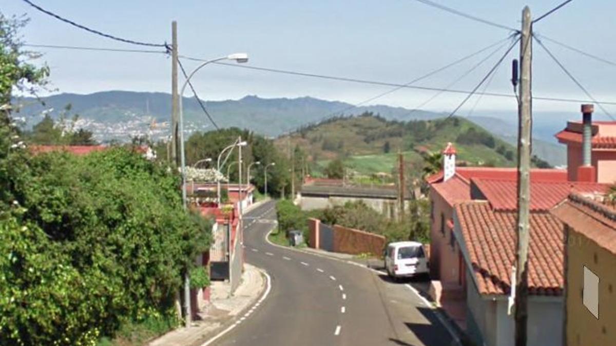 Calle Grano de Oro en El Rosario