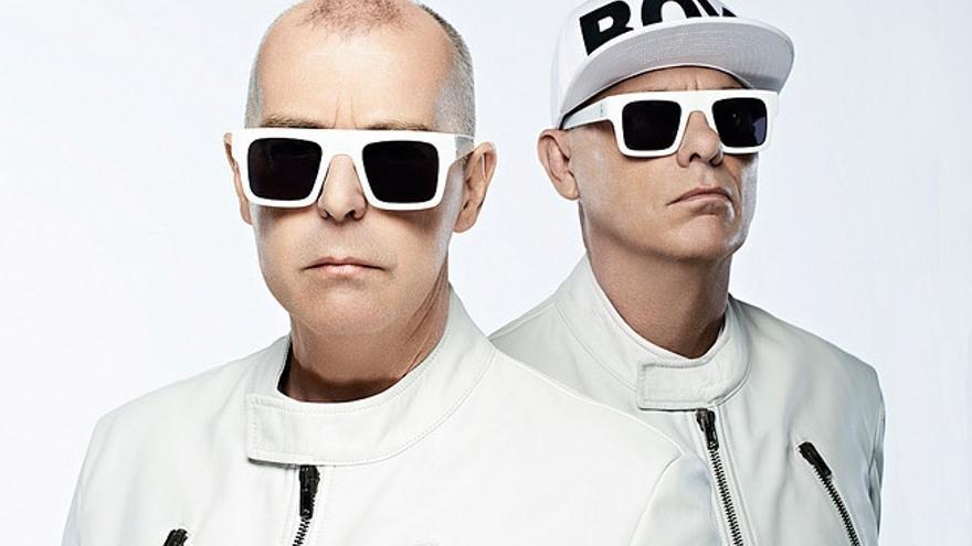 El polémico dúo británico Pet Shop Boys.