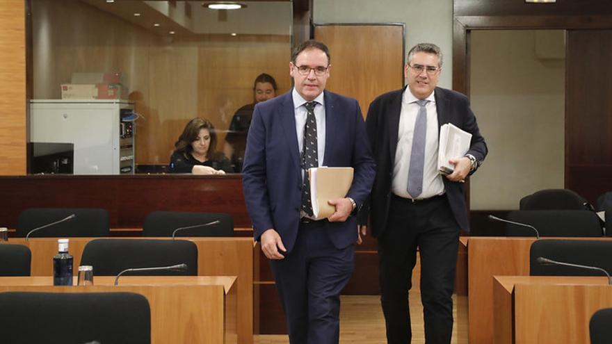 Benjamin Prieto a su llegada a la Comisión FOTO: Carmen Toldos