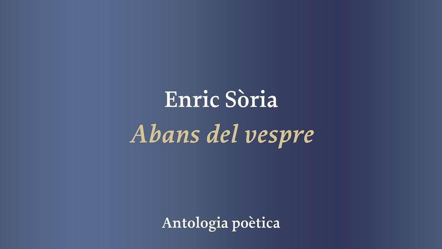 Portada del llibre d'Enric Sòria.