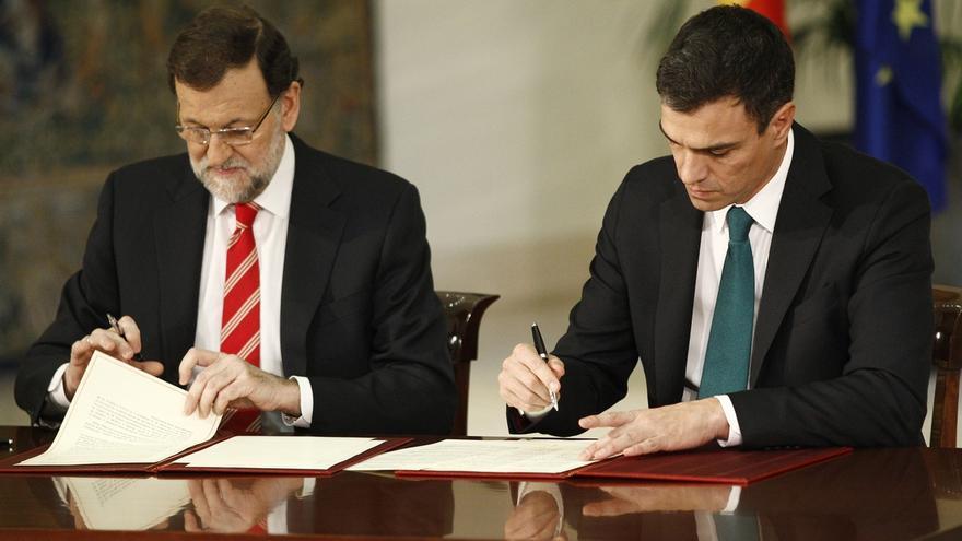 PP y PSOE registran mañana su iniciativa contra el terrorismo con idea de que el Congreso la apruebe el 19 de febrero